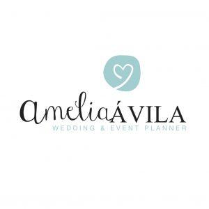 Logo de Amelia H. Ávila, Wedding and Event Planner.